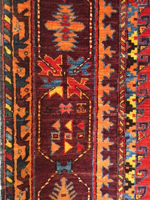 Border panel Baluchi Carpet