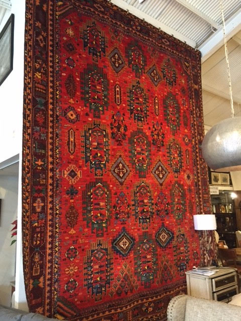Antique Rare Tribal Rug