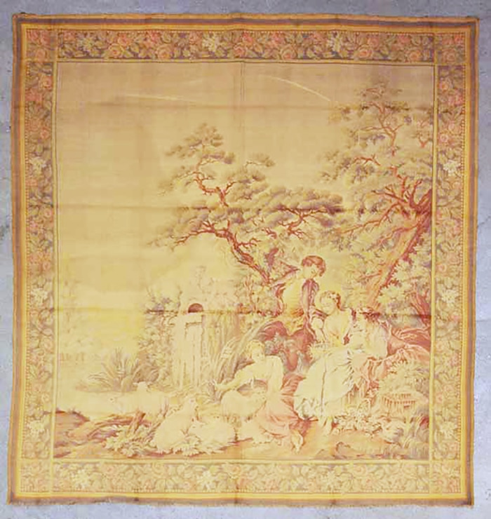 Antique English Tapestry | Rugs & More | Oriental Carpets