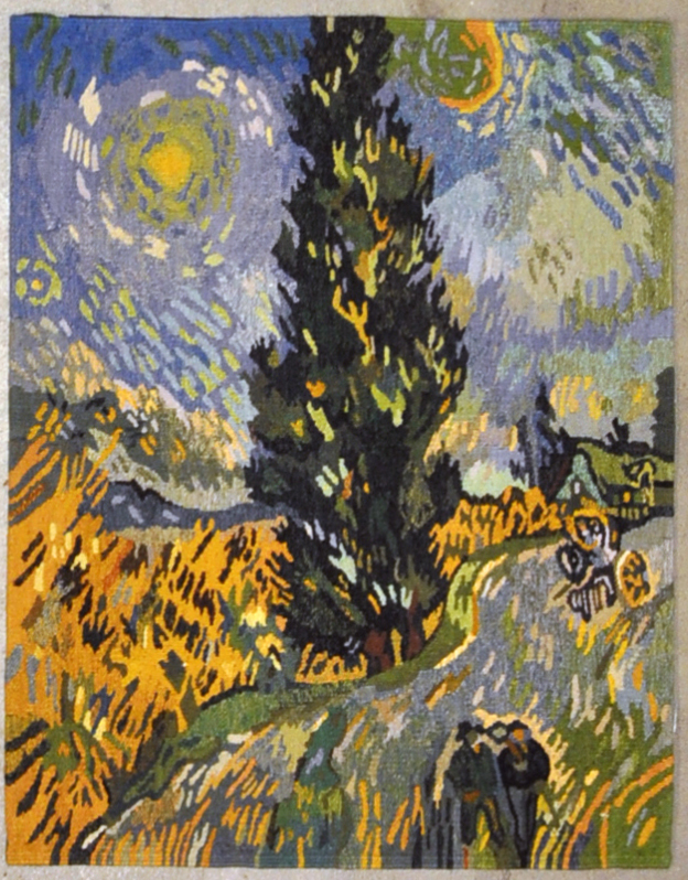 Van Gogh Tree Tapestry | Rugs and More | Santa Barbara Design Center 27173