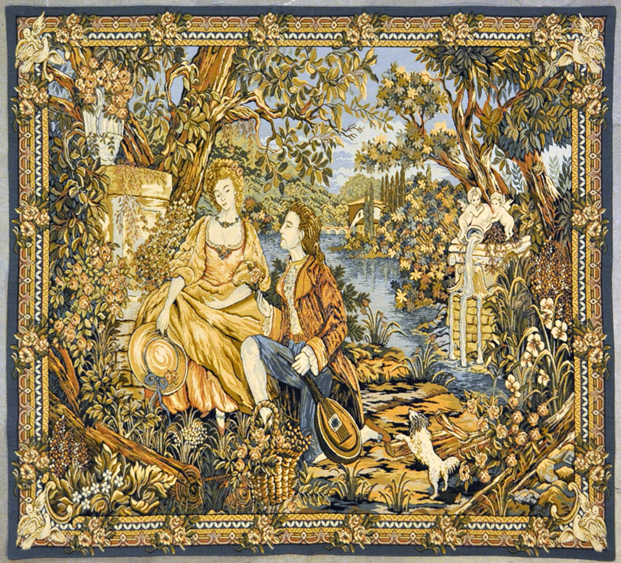 Woodland Romance Tapestry  | Rugs and More | Santa Barbara Design Center 27185