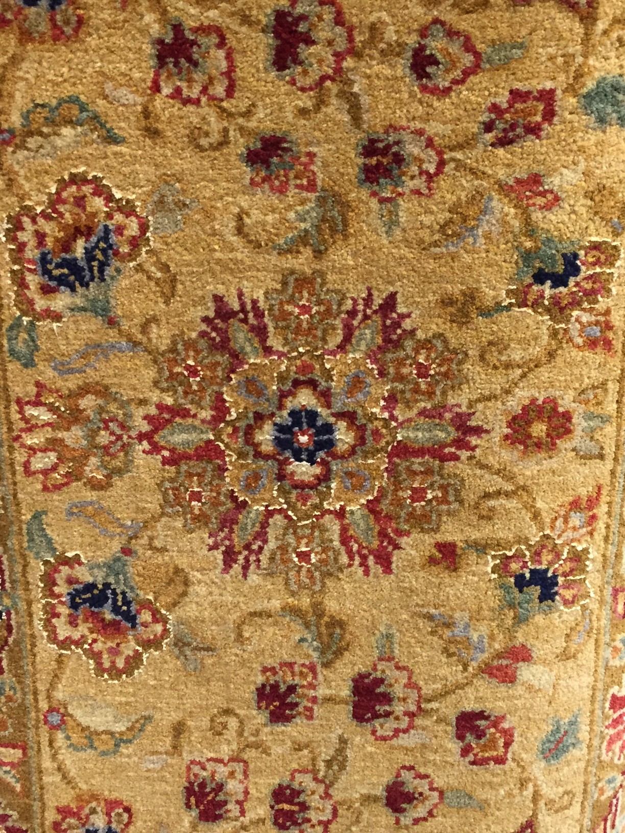 Mughal Agra Carpet Motif on boarder