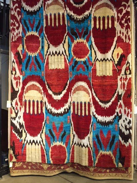 Finest Silk Ikat Rugs