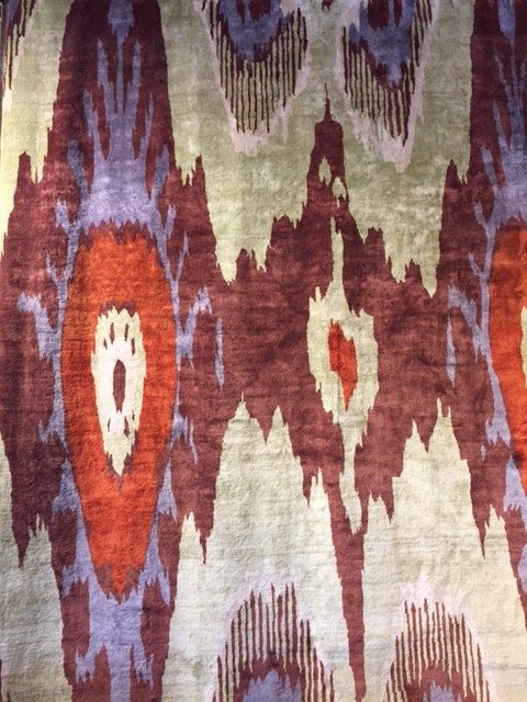 Finest Silk Ikat Carpet