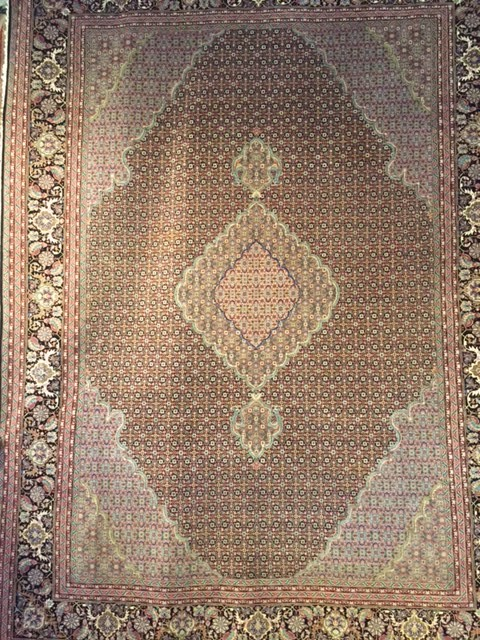 Tabriz Silk Carpet