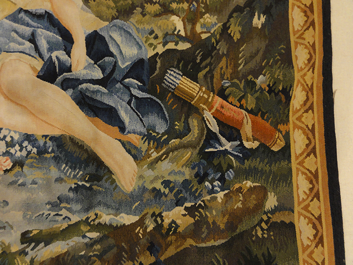 Lovers and Cupid Tapestry | Rugs and More | Santa Barbara Design Center 27188