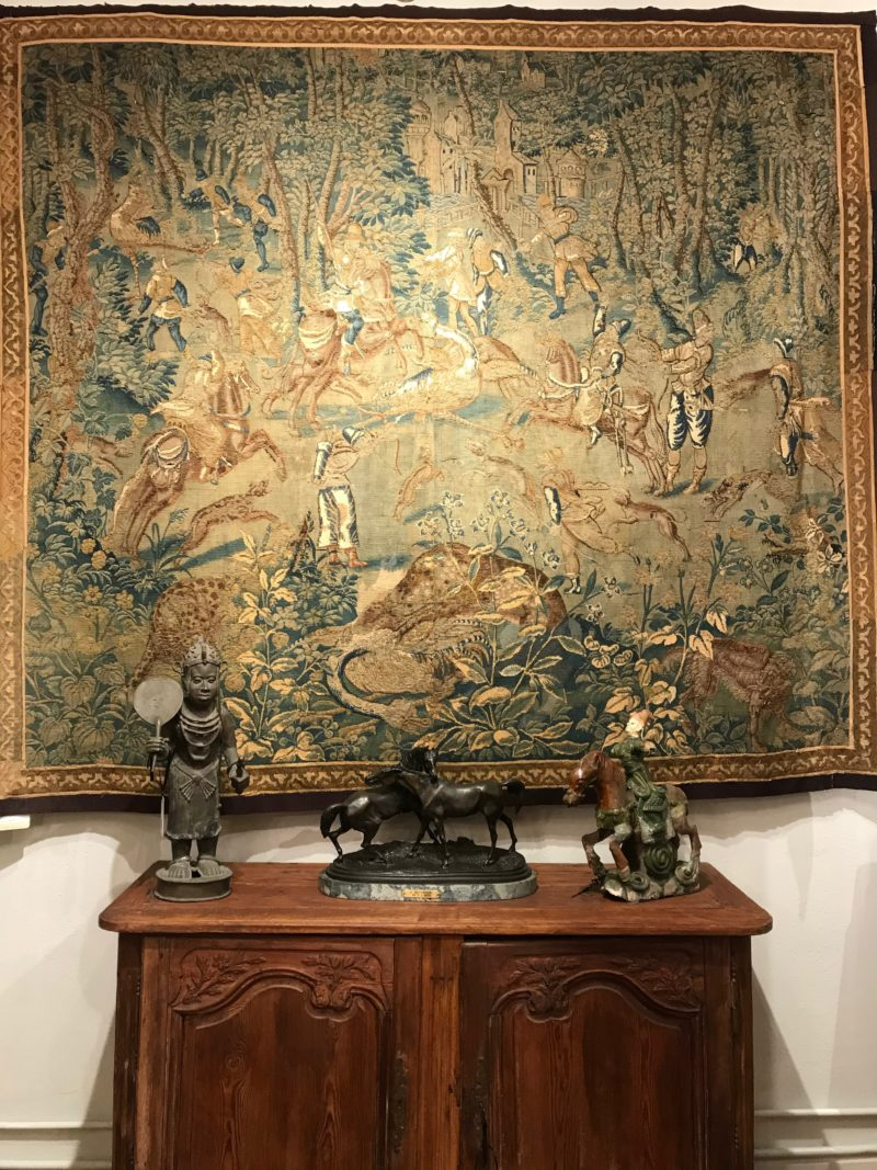 Game Park Tapestry Flemish 16th. Century