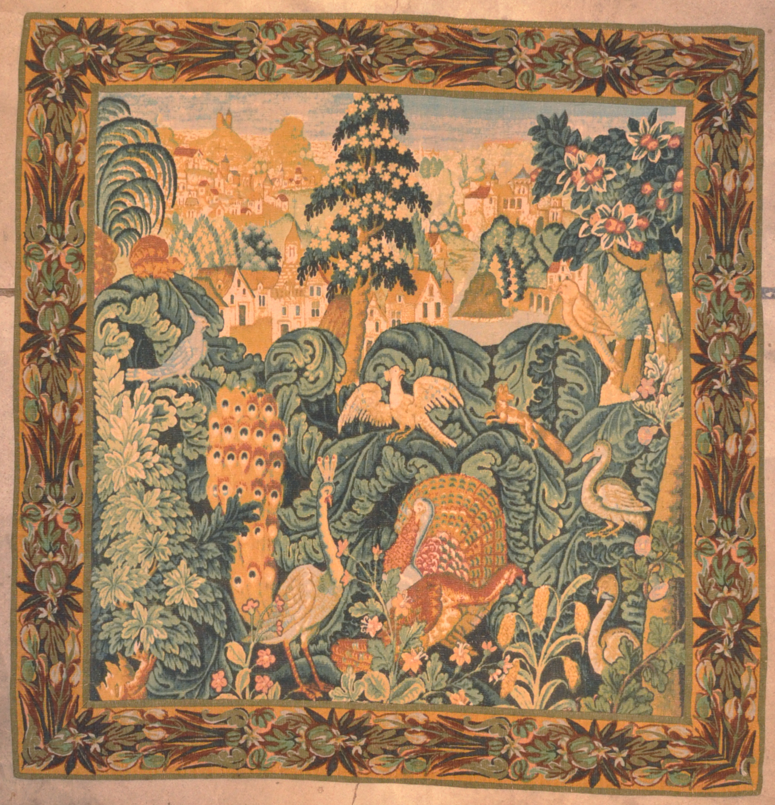 Antique European Tapestry Santa Barbara Design Center