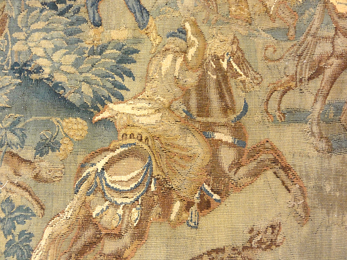 Game Park Tapestry Flemish 16th. Century 27513