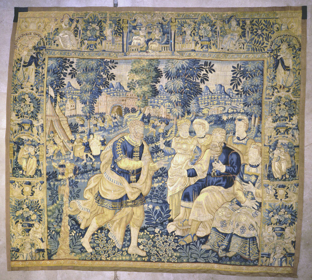 Antique Brussel Tapestry
