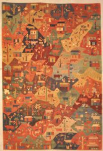 Tribal Village Rugs and more oriental carpet 28204-