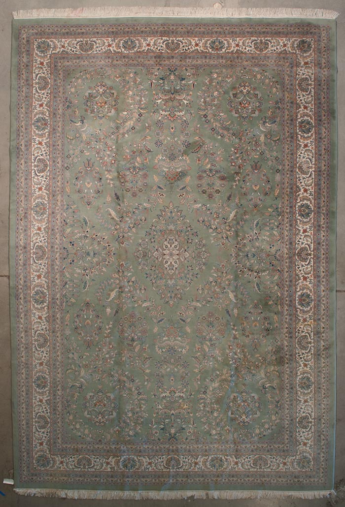 Finest Kashmiri Kashan rugs and more oriental carpet 28285-