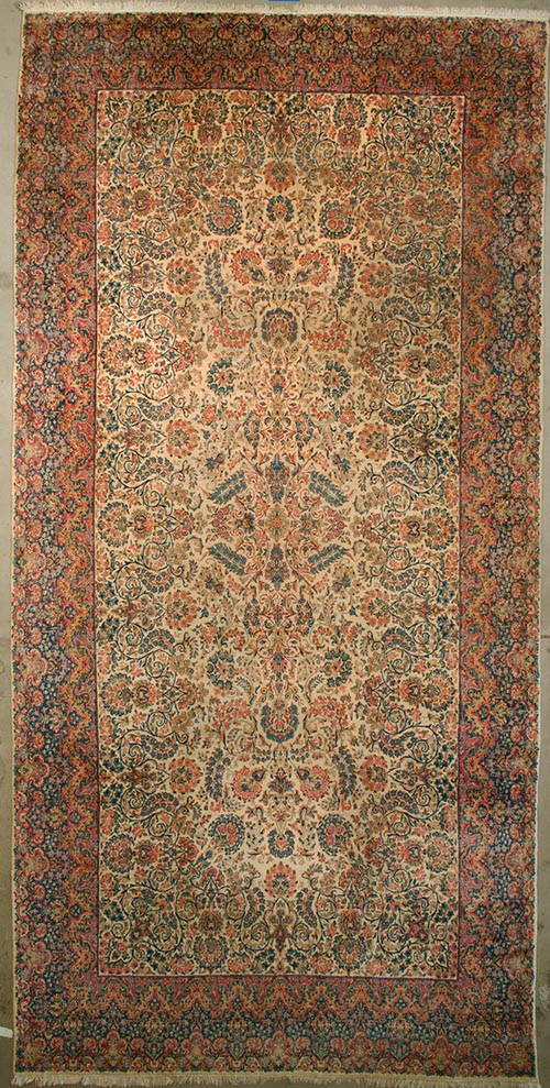 Antique Garden Kerman rugs and more oriental carpet 28286-