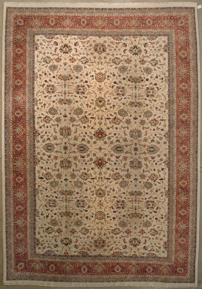 Indo Kashan rugs and more oriental carpet 28287-