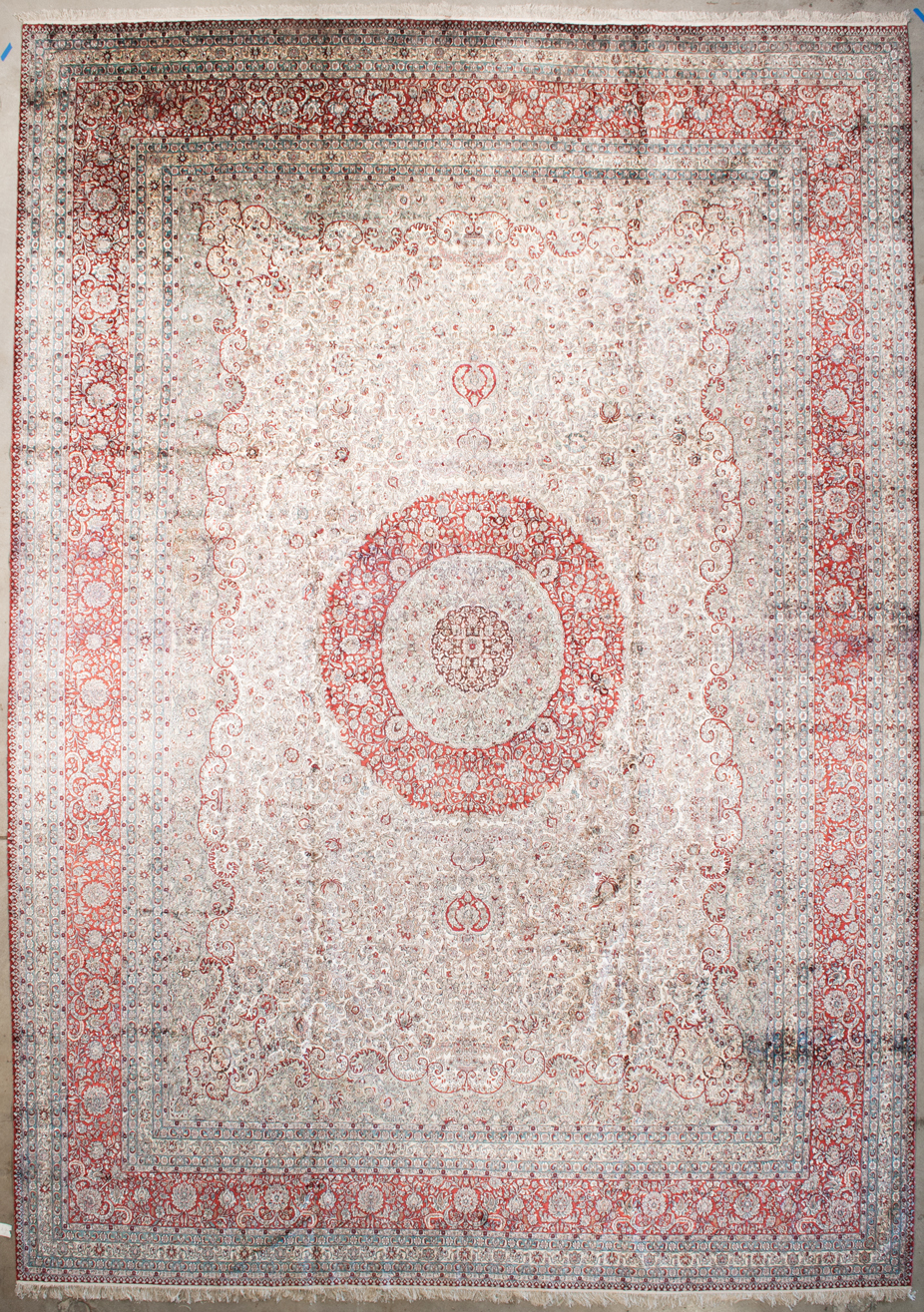 Fine silk Medallion | Rugs and More | Santa Barbara Design Center