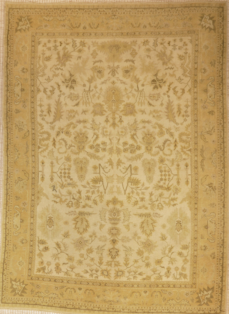 Indian Oushak rugs and more oriental carpet 28467-