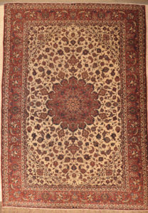 Finest Vintage Isfehan rugs and more 28425-