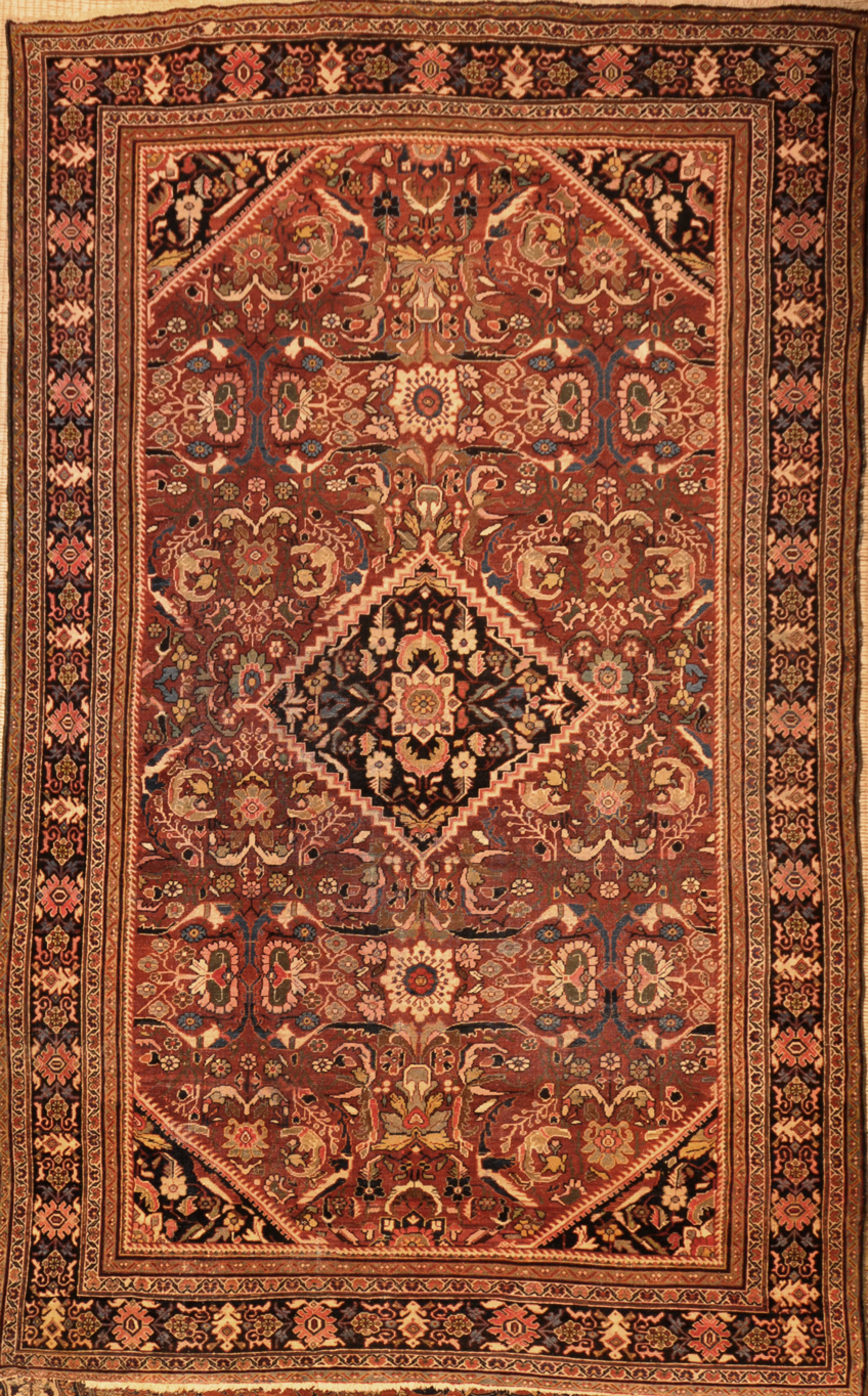 Antique Persian Mahal rugs and more 28424-
