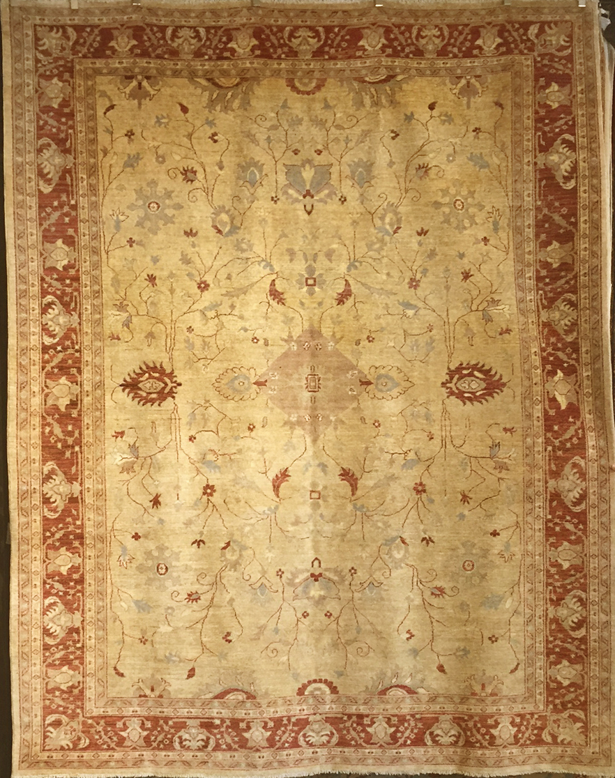 Fine Ziegler & co Oushak santa barabra design center rugs and more oriental carpet 1