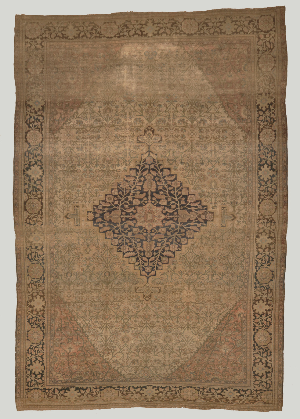 Antique Farahan santa barbara design center rugs and more oriental carpet
