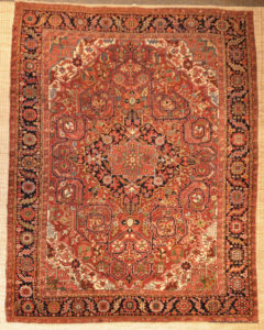 Rare Antique Serapi Heriz rugs and more oriental carpet 28401-