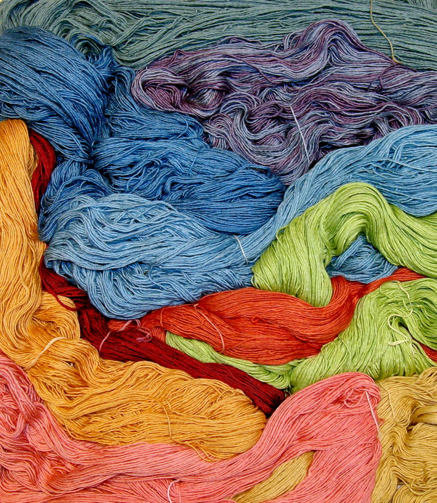 Kazak Natural dyes