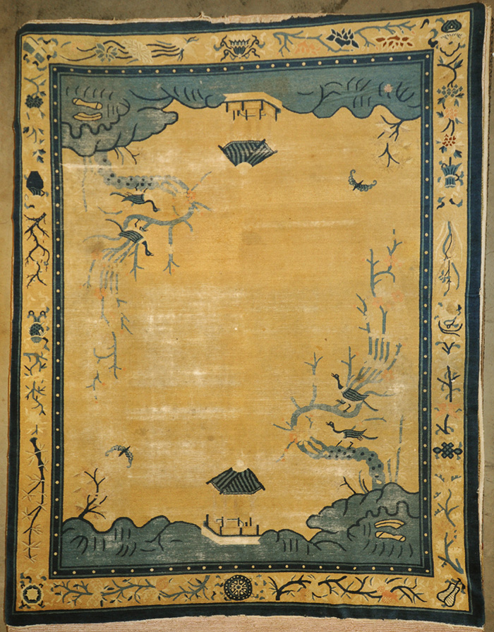 Rare Antique Peking rugs and more oriental carpet 28735-
