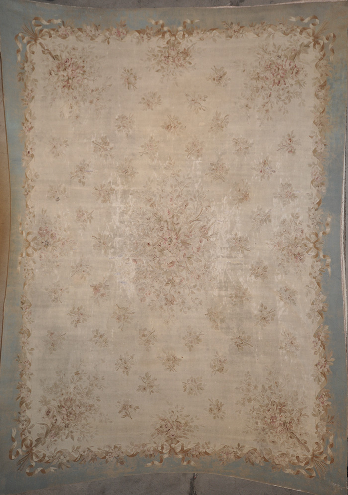 Antique Aubousson rugs and more oriental carpet 28723-