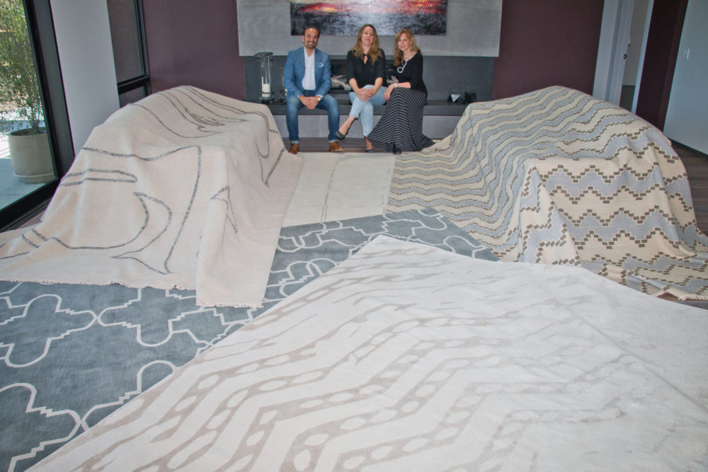Contemporary Rugs Designed by Maraya Droney