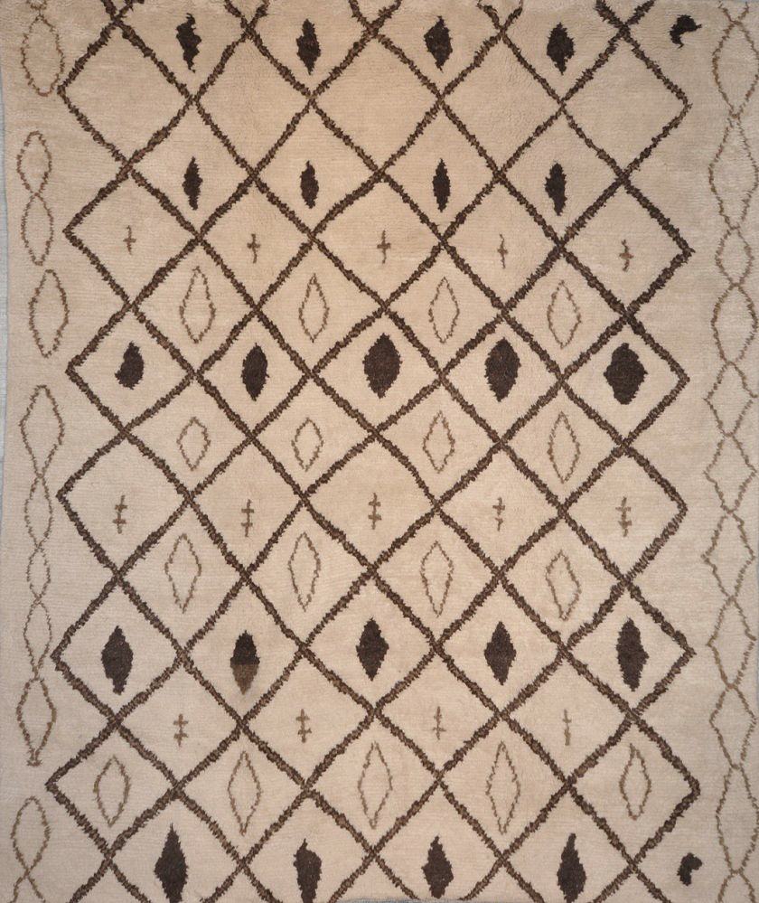 Natural Moroccan rugs and more oriental carpet 28983-