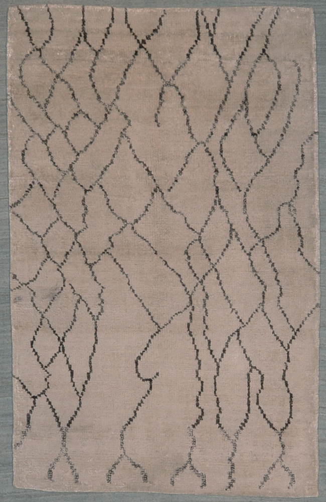 Bamboo Silk rugs and more oriental carpet 29014-