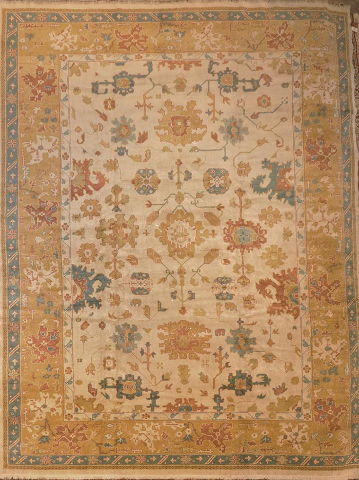 Rare Angora Oushak rugs and more oriental carpet 29249-