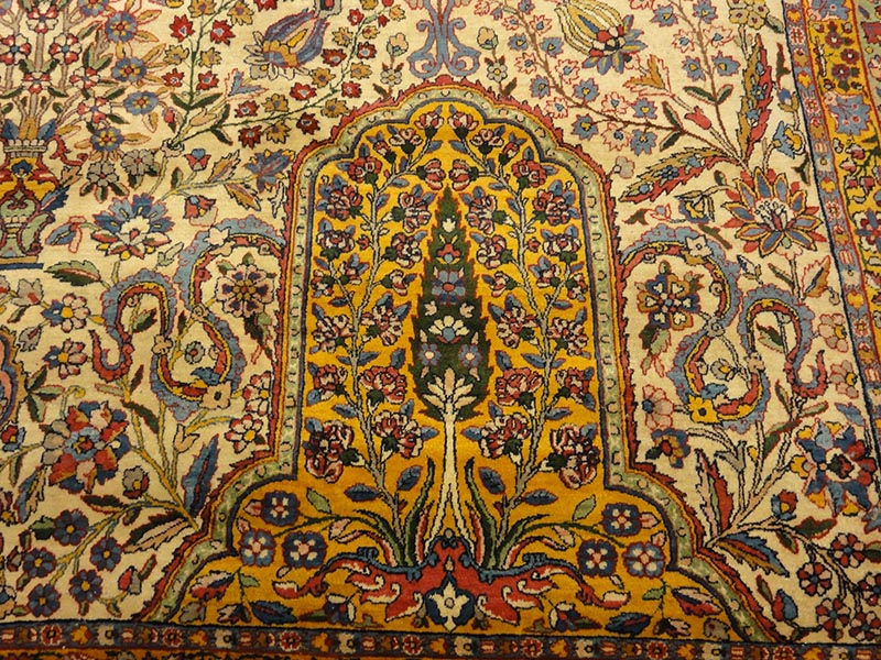 Antique Kerman Ravar rugs and more oriental carpet 43697-