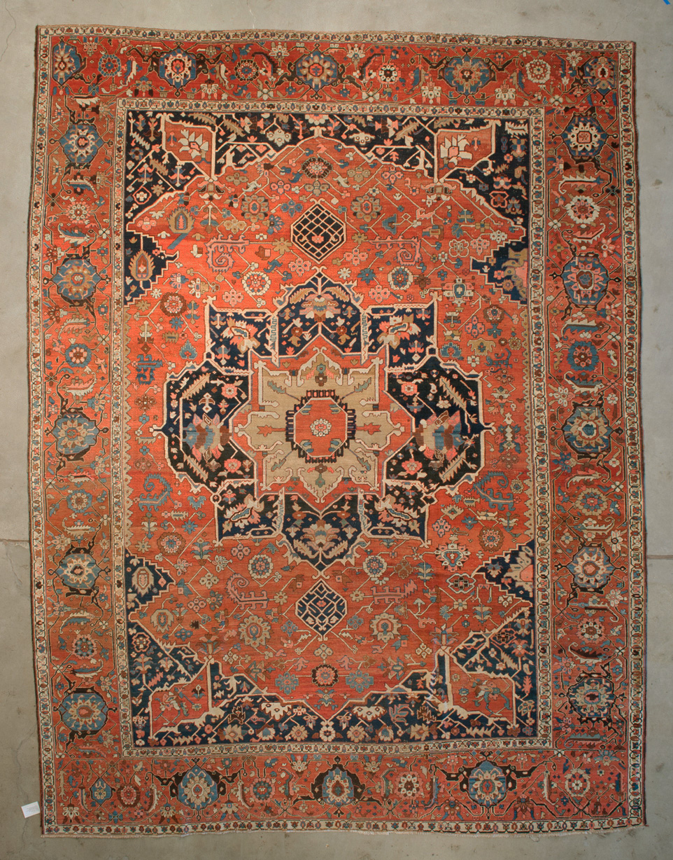Antique Serapi Rug of Majestic Proportions and Design rugs and more oriental carpet 43734-