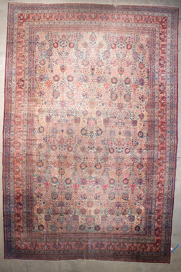 Rare Antique Kermanshah rugs and more oriental carpet 43703-