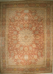Antique Haji-Jalili Tabriz Rug rugs and more oriental carpet 43705-