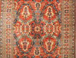 Finest Dragon Kazak Caucasian Rug Blessed by HH Dalai Lama rugs and more oriental carpet 43700-