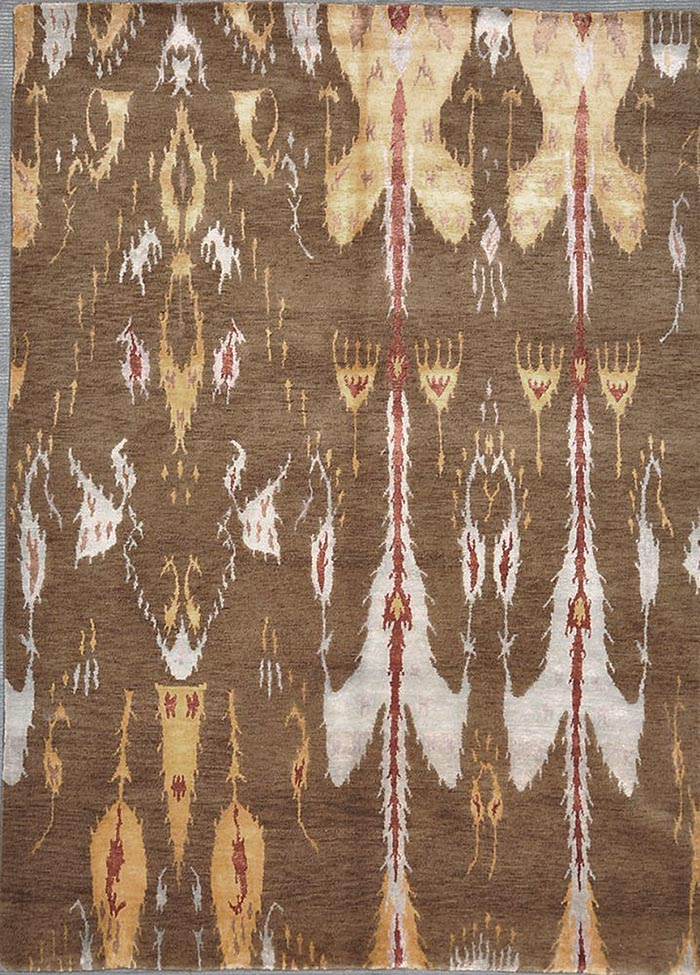 Modern Ikat rugs and more oriental carpet 29118-
