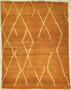 Orange Natural Moroccan rug santa barbara design center rugs and more oriental carpet