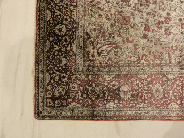 Rare Antique Silk Mohtasham Kashan 29241-3