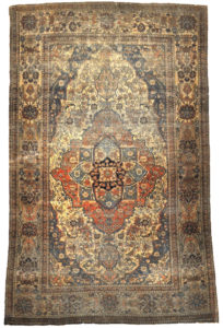 Finest-Rare-Antique-Mohtasham-Rug-29236