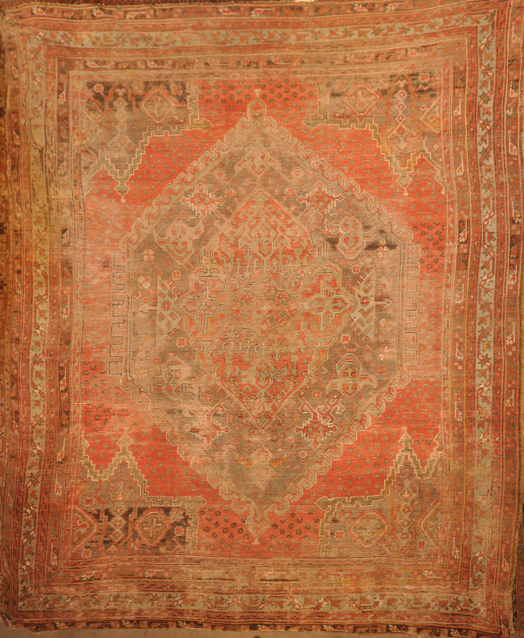 Rare Ancient Star Oushak | Rugs & More | Santa Barbara Design Center| Rugs and More 43534