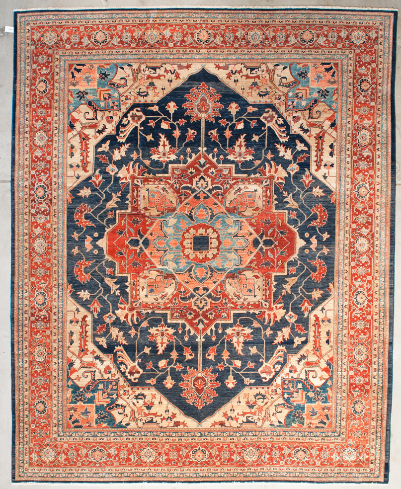 Fine Ziegler & Co. Hand Knotted Heriz Oriental Rug santa barbara design center rugs and more authentic oversize heriz all natural dyes