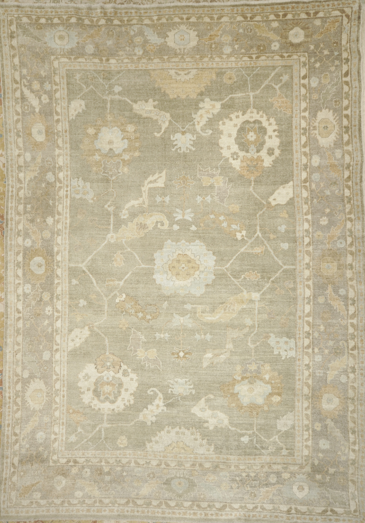 Finest Turkish Angora Oushak | Rugs & More| Santa Barbara Design 43549
