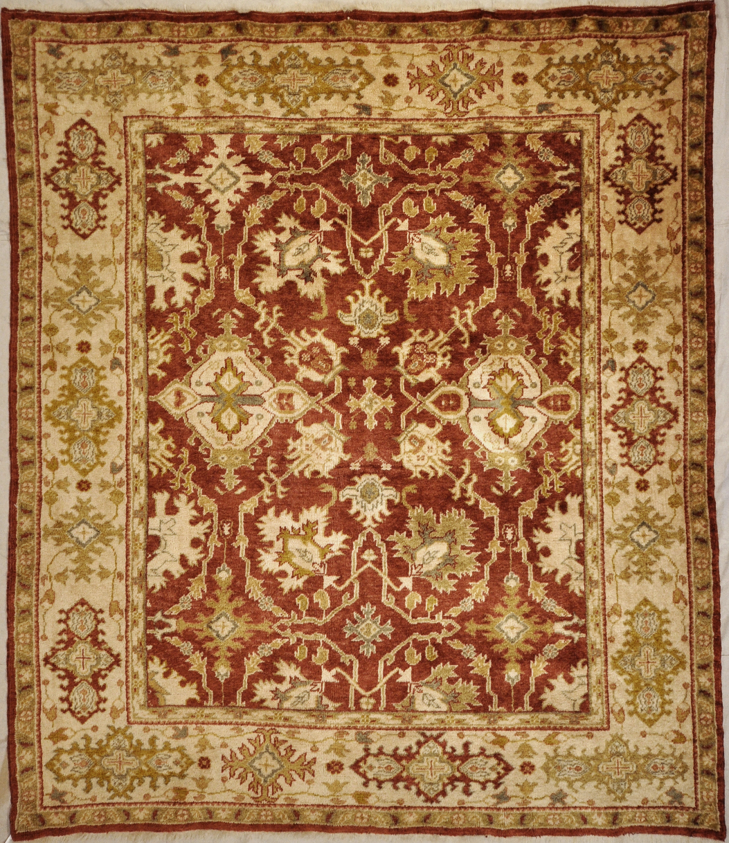 Fine Angora Oushak rugs and more oriental carpet 29245-
