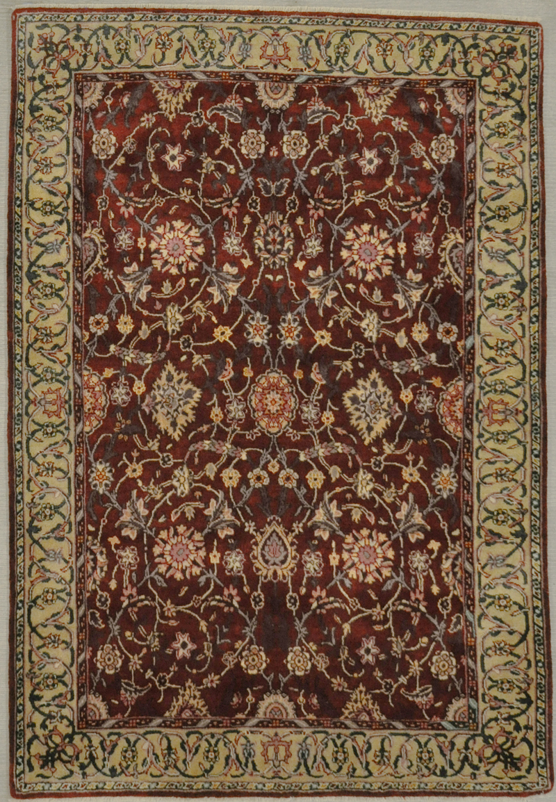 Mughal Silk - Carpet weaving was one of the most outstanding aspects of textile production in India under the Mughal dynasty from the late sixteenth to early eighteenth centuries.