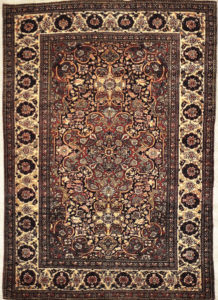 Antique Isfahan santa barbara design center rugs and more oriental carpet 29294