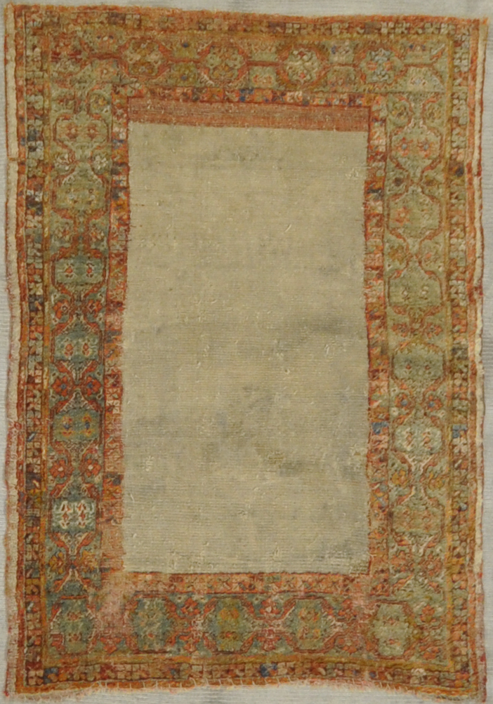 Antique Angora Oushak rug santa barbara design center rugs and more oriental carpet
