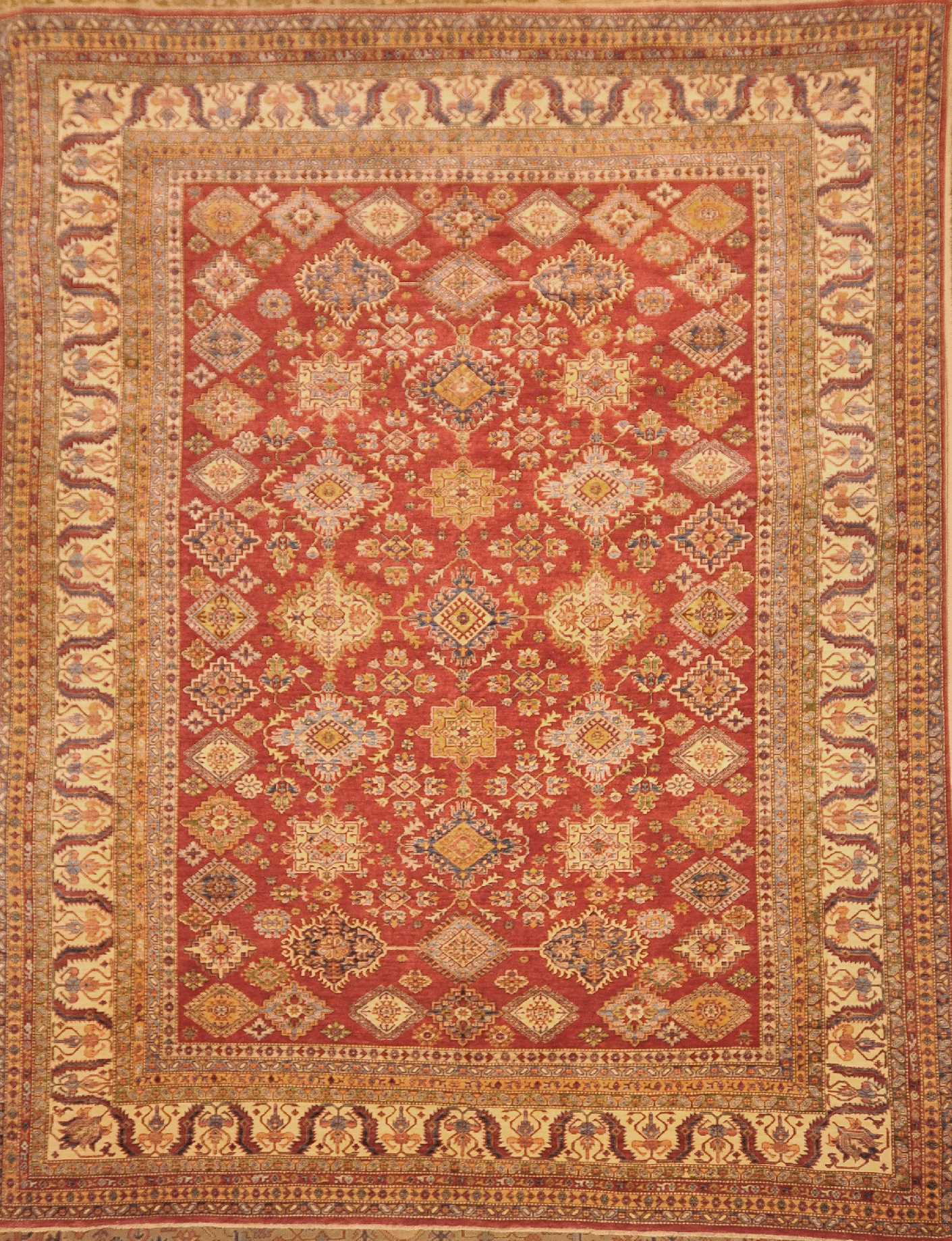 Fine Turkoman with a classic Caucasian design