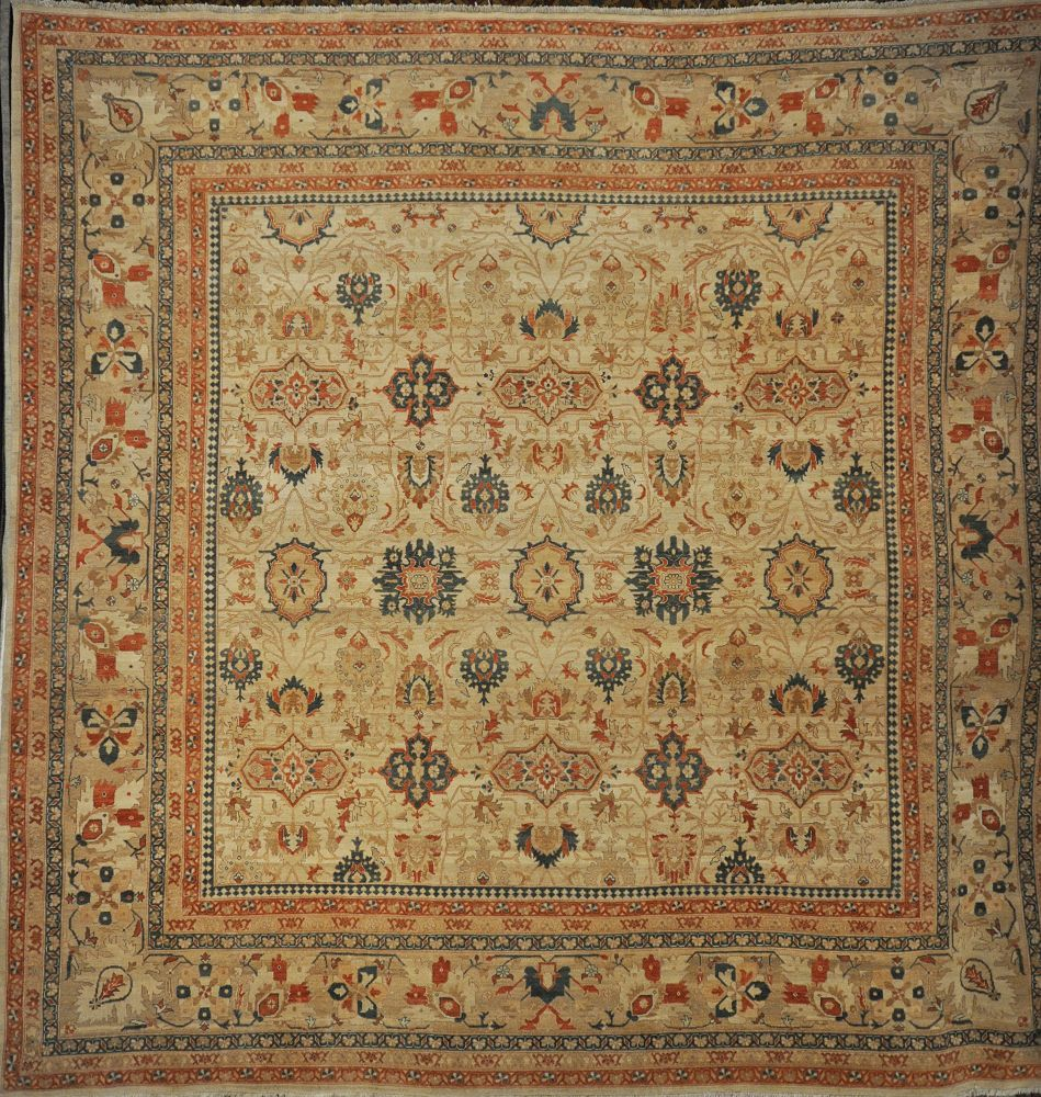 Fine Ziegler and Co. Farahan Authentic hand knotted wool
